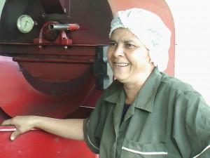 グアテマラ女性グループ Alimentos Nutri-Naturales  生産者 マリーナさん