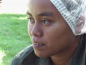 グアテマラ女性グループ Alimentos Nutri-Naturales  生産者 オクタヴィーラさん
