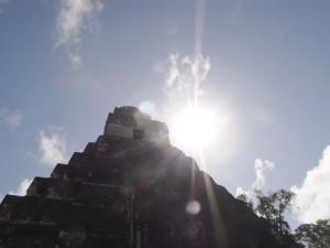 Tikal pyramid
