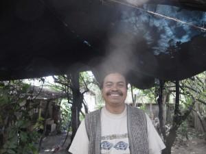 a male shaman